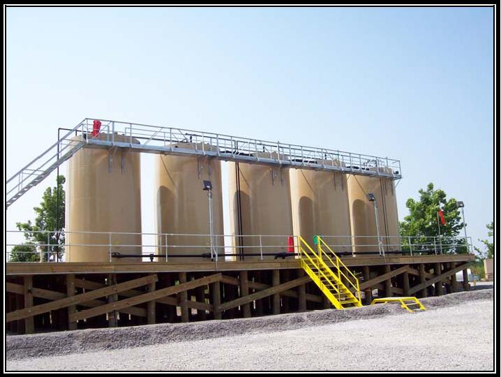 Elevated  Storage Tanks